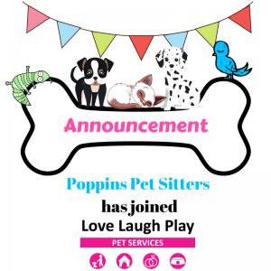 Poppins Pet Sitters merge with Love Laugh Play Pet Minding