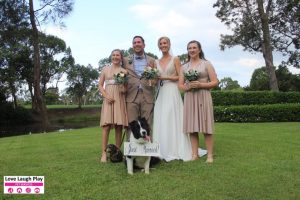 Kellie and Andrew's PAWFECT Wedding